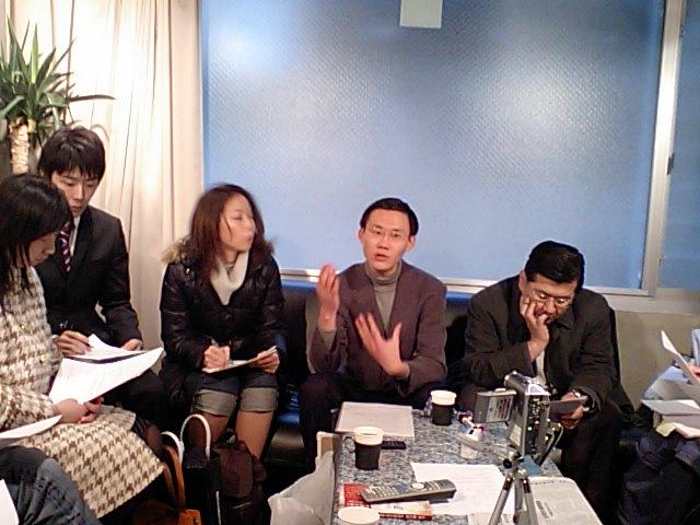 第27回漢語角 日本僑報社事務所で開催 張明さんの報告_d0027795_15273911.jpg