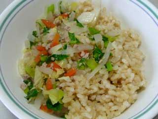 玄米菜食、でもお肉も少し_d0020309_1744958.jpg