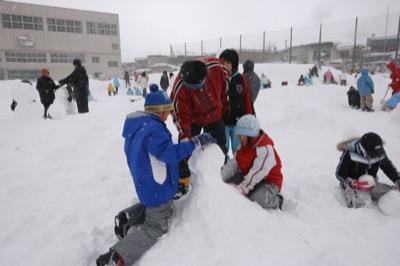 2008年2月15日(金)FUJISANの山開き、新光FUJI雪あかり村の開村_a0062127_1274577.jpg