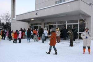 2008年2月15日(金)FUJISANの山開き、新光FUJI雪あかり村の開村_a0062127_16545312.jpg