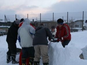 2008年2月15日(金)FUJISANの山開き、新光FUJI雪あかり村の開村_a0062127_16554046.jpg