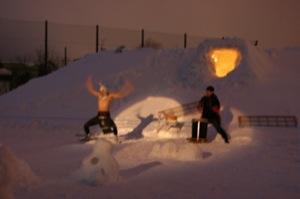 2008年2月15日(金)FUJISANの山開き、新光FUJI雪あかり村の開村_a0062127_17105789.jpg