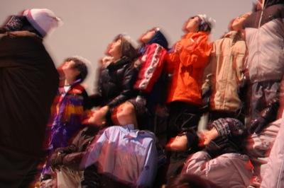 2008年2月15日(金)FUJISANの山開き、新光FUJI雪あかり村の開村_a0062127_17144386.jpg