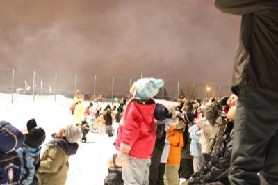 2008年2月15日(金)FUJISANの山開き、新光FUJI雪あかり村の開村_a0062127_17164186.jpg