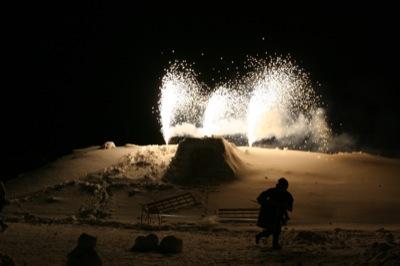 2008年2月15日(金)FUJISANの山開き、新光FUJI雪あかり村の開村_a0062127_17221416.jpg