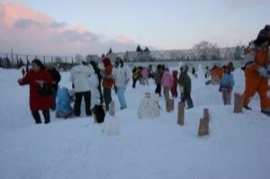 2008年2月15日(金)FUJISANの山開き、新光FUJI雪あかり村の開村_a0062127_173167.jpg