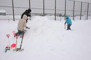 2008年2月15日(金)FUJISANの山開き、新光FUJI雪あかり村の開村_a0062127_1735429.jpg