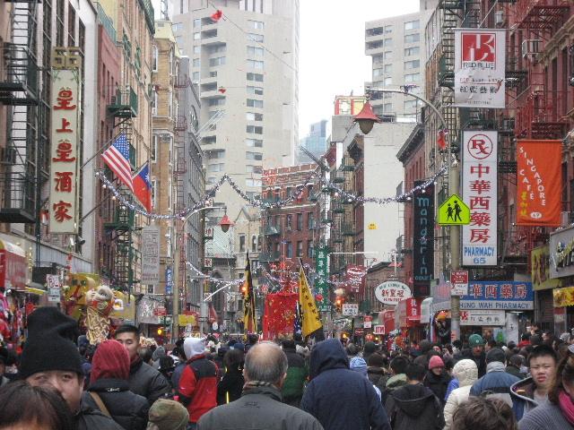 旧正月を迎えニューヨークのチャイナタウンも盛り上がっています!今日はチャ... チャイナタウンの