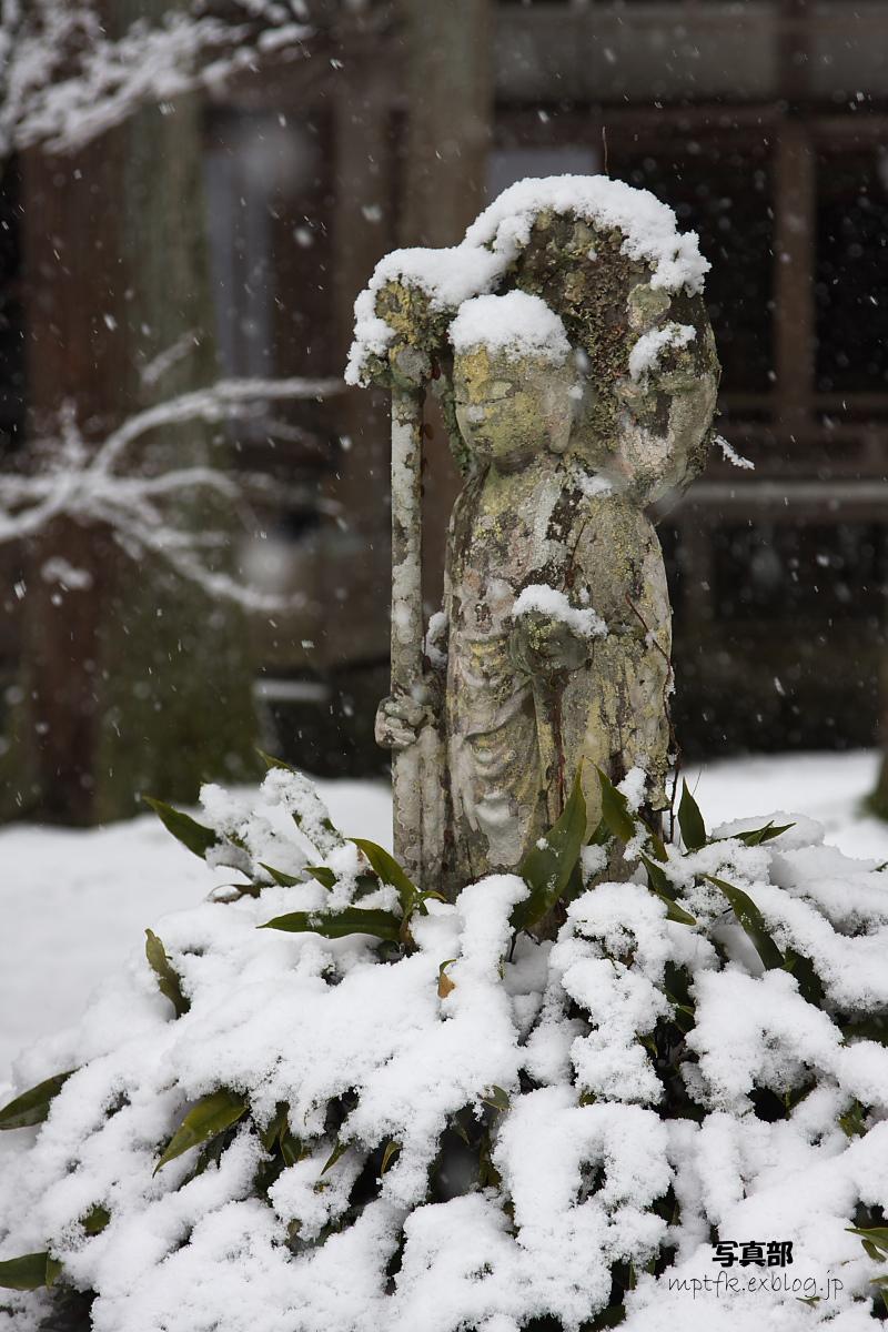 京都 雪景色 <大原> 3_f0021869_20372521.jpg