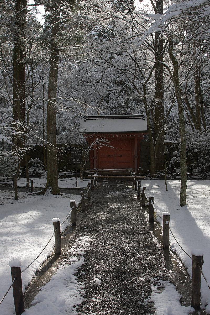 京都 雪景色 <大原> 3_f0021869_20495088.jpg