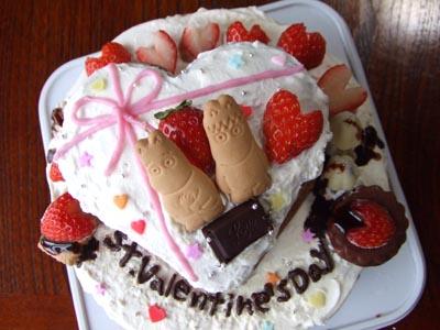 バレンタインケーキ_e0125732_17284110.jpg