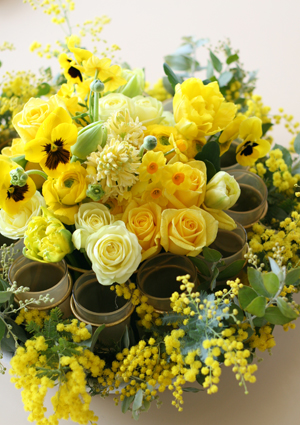 ひよこ色の花たち♪_f0127281_0395860.jpg