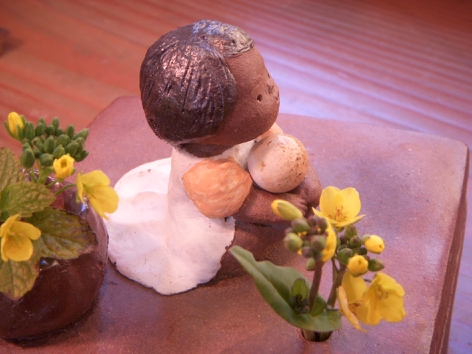 『春の陶人形たち』 窯開き仕切り直し展:2/23〜3/2_f0018417_144054.jpg