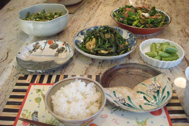 サラダのある食卓_d0100880_21443689.jpg