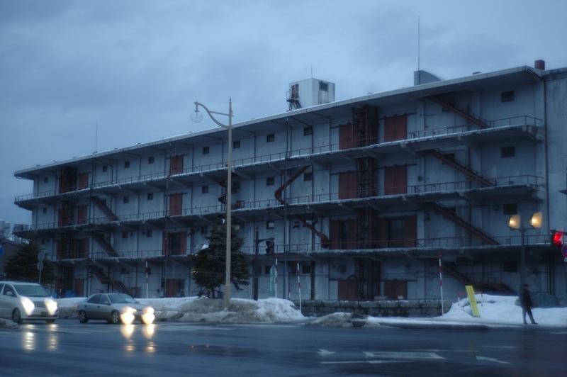 小樽の冬14 夕暮れの横置き画像_f0042194_2235154.jpg