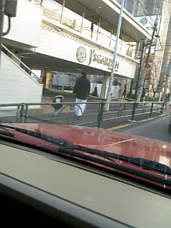リード付けて散歩する父子を見た。_e0067283_029934.jpg