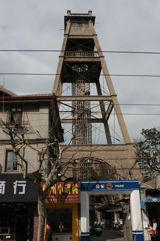 上海下町のエッフェル塔-小南門警鐘楼_f0149885_20581646.jpg