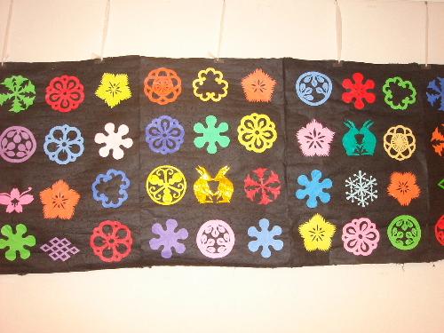 ハート 折り紙:折り紙切り絵花簡単-assmilee.exblog.jp