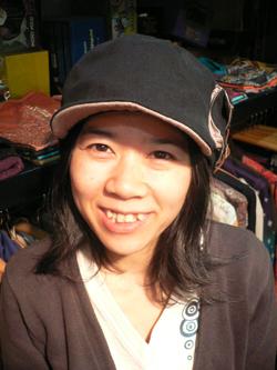 春はもう直ぐそこだぁぁぁ~~!! 帽子でオシャレに2008年春をエンジョイじゃい!!_f0004730_173879.jpg