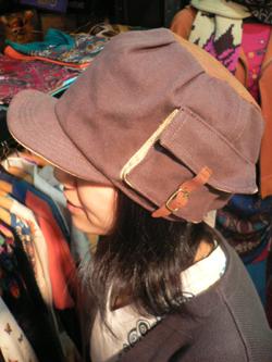 春はもう直ぐそこだぁぁぁ~~!! 帽子でオシャレに2008年春をエンジョイじゃい!!_f0004730_17391313.jpg