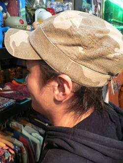 春はもう直ぐそこだぁぁぁ~~!! 帽子でオシャレに2008年春をエンジョイじゃい!!_f0004730_17404220.jpg