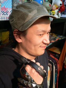 春はもう直ぐそこだぁぁぁ~~!! 帽子でオシャレに2008年春をエンジョイじゃい!!_f0004730_1741237.jpg