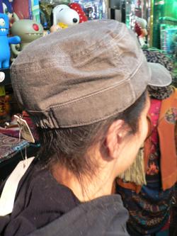 春はもう直ぐそこだぁぁぁ~~!! 帽子でオシャレに2008年春をエンジョイじゃい!!_f0004730_17415284.jpg