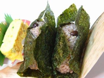 今日のお弁当 ☆ 玄米おにぎり♪_c0139375_14221579.jpg