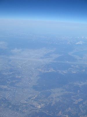 """空路""""東海道三景""""・・・洛中洛外、セントレア、富嶽_c0001578_059974.jpg"""