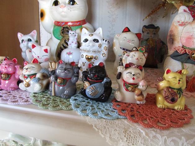 招き猫大集合_b0089338_026377.jpg