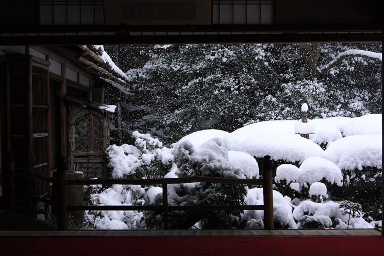 雪の詩仙堂_e0051888_1643195.jpg