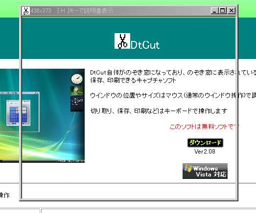 スクリーンショットと切り取りを同時にしてくれるDtCut_c0025115_2174252.jpg