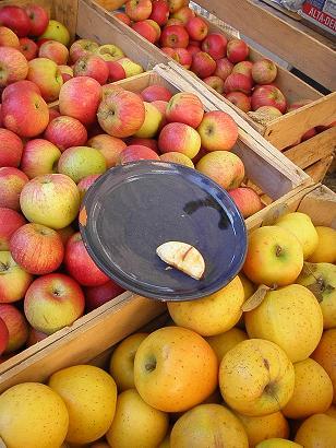 リンゴとアーモンドのクリームタルト_d0142837_2110464.jpg