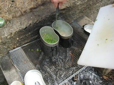 飯ごう炊さん試作_f0079749_20503122.jpg