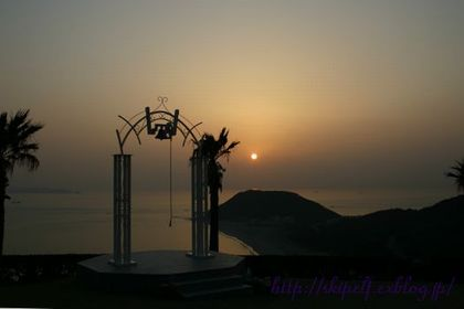 伊良湖岬の夕日_c0134734_2273818.jpg