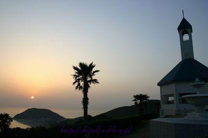 伊良湖岬の夕日_c0134734_2294810.jpg