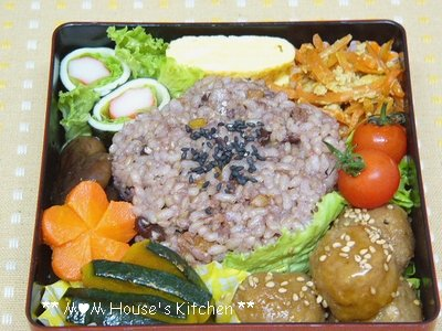 今日のお弁当 と にんじんしりしりー♪_c0139375_1112156.jpg