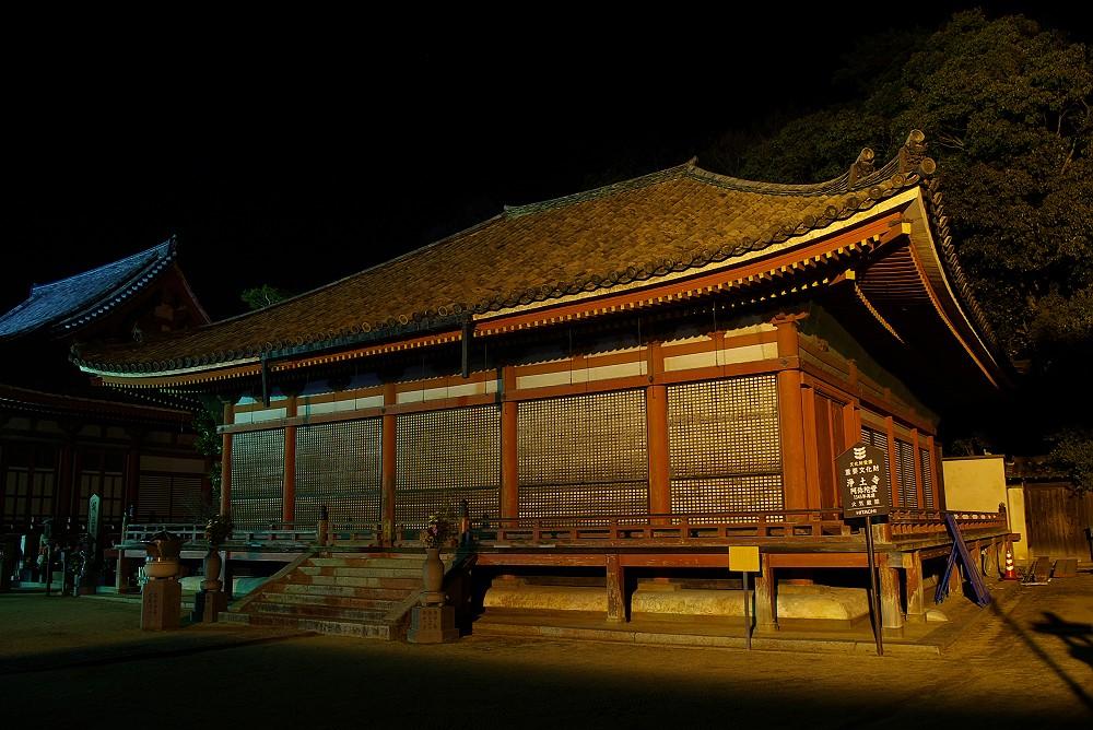 浄土寺本堂(国宝)VS 阿弥陀堂(重文)_c0152379_6172198.jpg