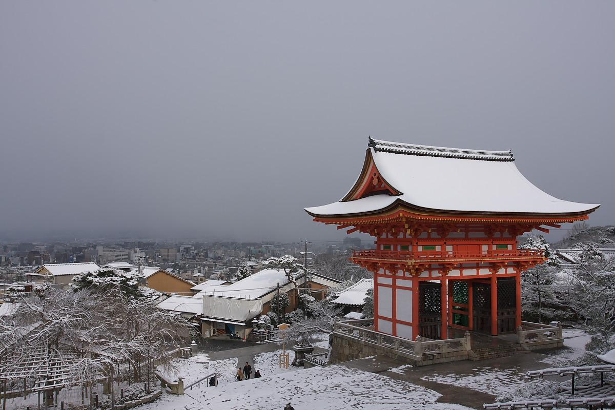 京都 雪景色 <東山> 1_f0021869_16103817.jpg