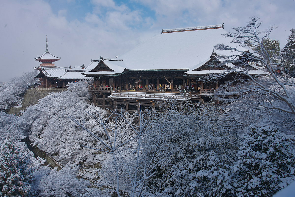 京都 雪景色 <東山> 7_f0021869_18405490.jpg