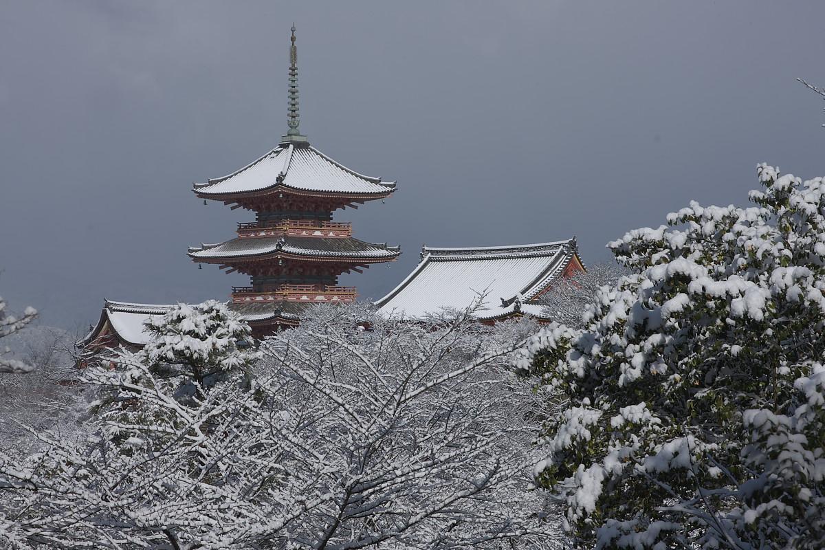 京都 雪景色 <東山> 7_f0021869_1841216.jpg
