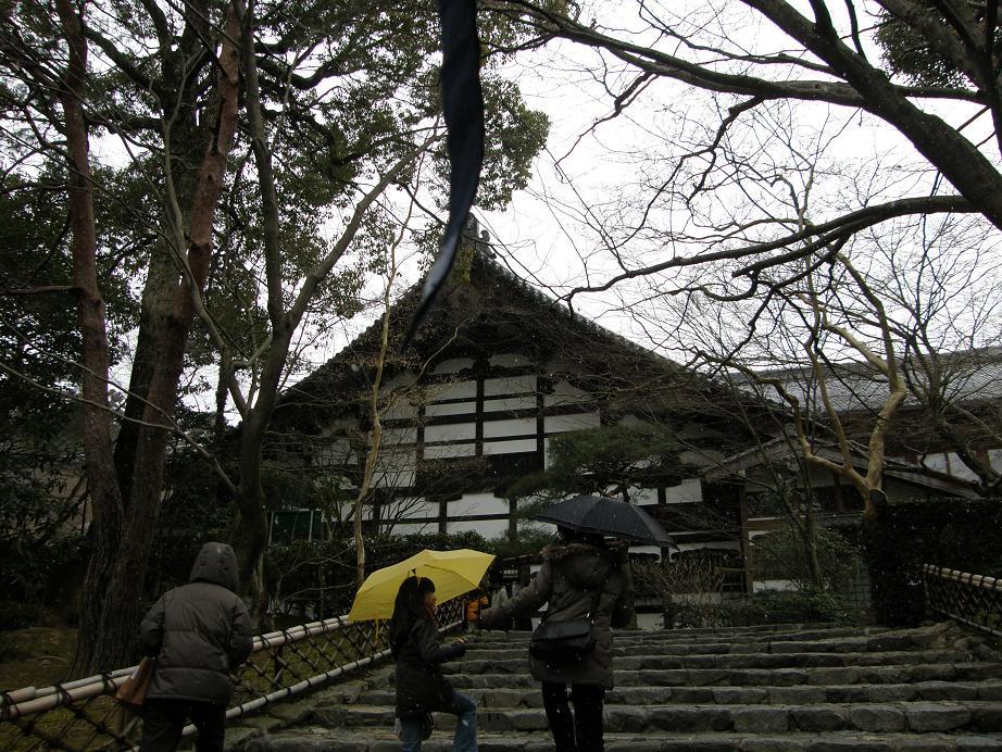 第3弾 冬の京都の世界遺産を訪ねて 竜安寺_c0118393_1754719.jpg