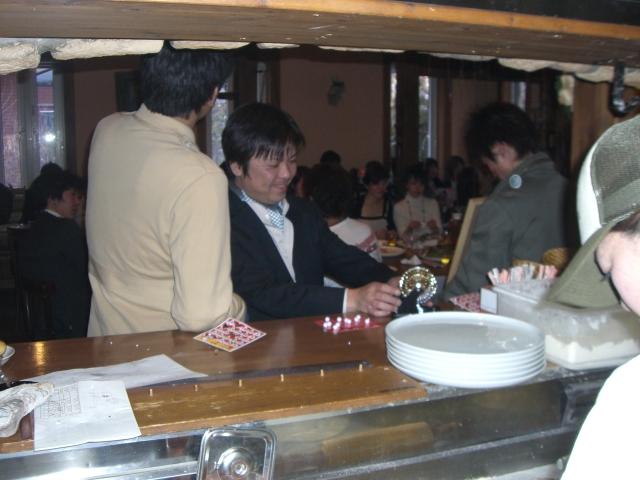 今週末も、結婚式二次会 【Chef's Report】_f0111415_1250287.jpg