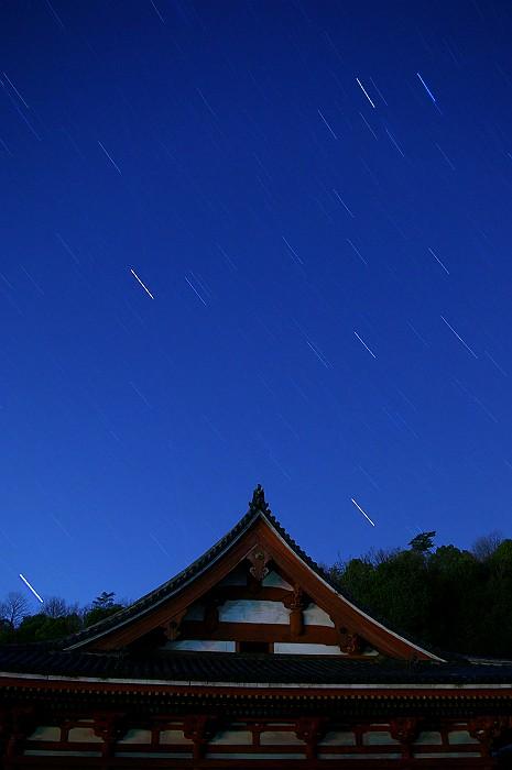 星降る夜 西国寺金堂_c0152379_10154944.jpg