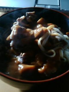 カレー丼_e0126302_865125.jpg
