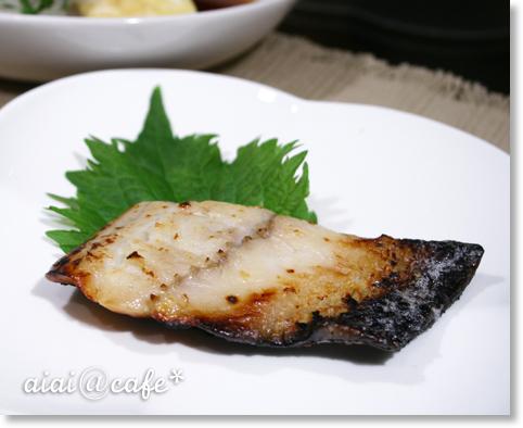 おろし豆腐ステーキ&鰆の西京味噌漬け_a0056451_137179.jpg