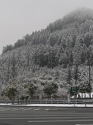 """雪景色の里山・・・玖珠""""春雪墨彩""""_c0001578_21362344.jpg"""