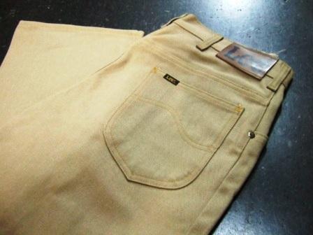 70年代 LEE #200 BOOTS CUT カツラギ パンツ デッドストック_c0144020_18203172.jpg