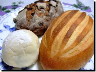 「田園ぽてと」のパン