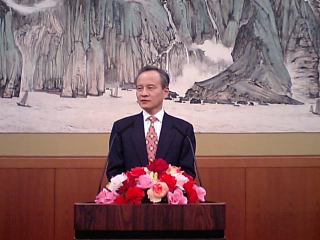 中国大使館主催の三八婦女節レセプション東京で開催_d0027795_18512375.jpg
